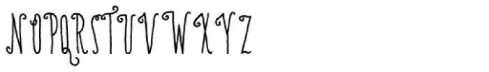 Amorie Nova Medium Font UPPERCASE