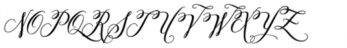 Amorino Font UPPERCASE