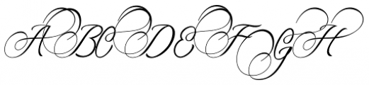 Amorista Regular Font UPPERCASE