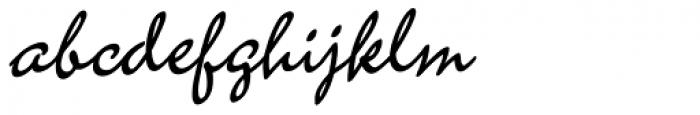Amplia Font LOWERCASE