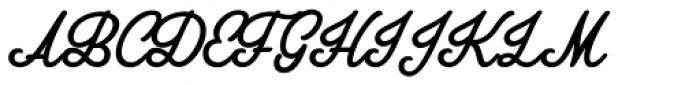 Amplify Font UPPERCASE