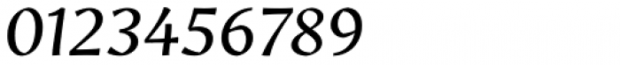 Amrys Italic Font OTHER CHARS
