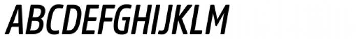 Amsi Pro Cond SemiBold Italic Font UPPERCASE