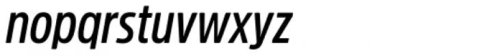 Amsi Pro Cond SemiBold Italic Font LOWERCASE