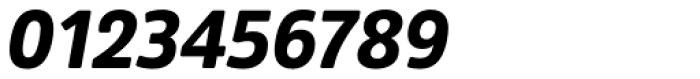 Amsi Pro Narrow Black Italic Font OTHER CHARS