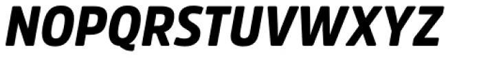 Amsi Pro Narrow Black Italic Font UPPERCASE