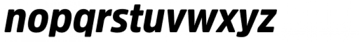 Amsi Pro Narrow Black Italic Font LOWERCASE