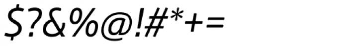 Amsi Pro Narrow Italic Font OTHER CHARS
