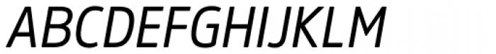 Amsi Pro Narrow Italic Font UPPERCASE
