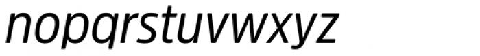 Amsi Pro Narrow Italic Font LOWERCASE