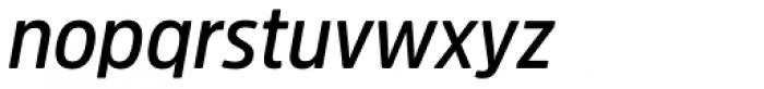 Amsi Pro Narrow SemiBold Italic Font LOWERCASE