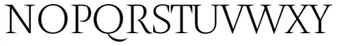 Amster Pro Blanca Font UPPERCASE