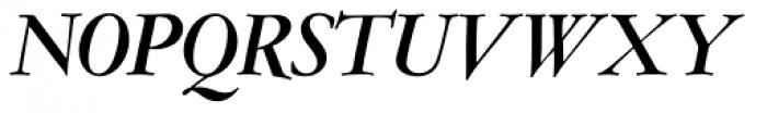Amsterdamer Garamont Pro Bold Italic Font UPPERCASE