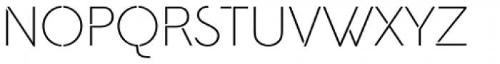 Amundsen Font UPPERCASE