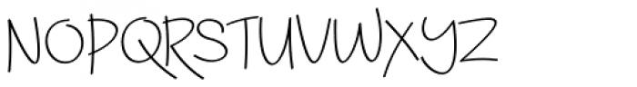 Amy Font UPPERCASE