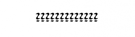 American Uncial D Round Standard Font LOWERCASE