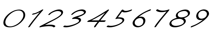 Ancron-ExtraexpandedItalic Font OTHER CHARS