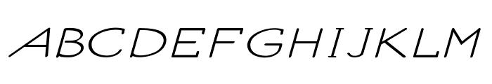 Ancron-ExtraexpandedRegular Font UPPERCASE