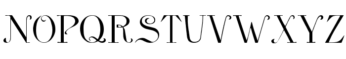 Anglophile Regular Font UPPERCASE