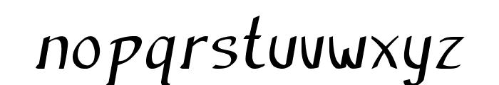 Anish-Bold Font LOWERCASE