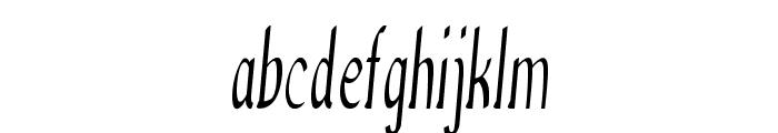 Anish-ExtracondensedBold Font LOWERCASE