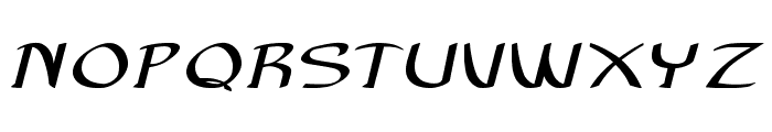 Anish-ExtraexpandedBold Font UPPERCASE