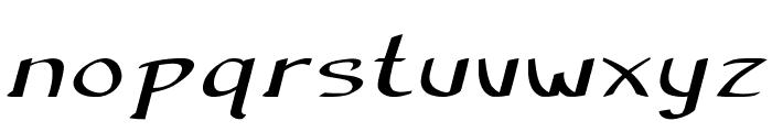 Anish-ExtraexpandedBold Font LOWERCASE