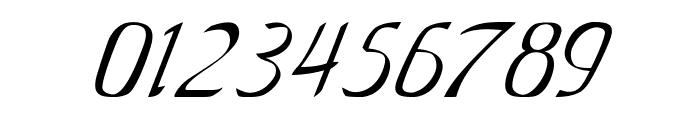Anish-Italic Font OTHER CHARS