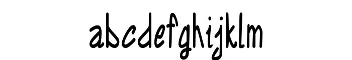 Annarvin-CondensedBold Font LOWERCASE