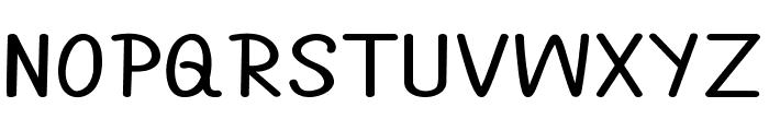 Annarvin-ExpandedBold Font UPPERCASE