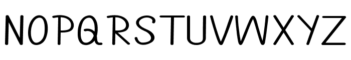 Annarvin-ExpandedRegular Font UPPERCASE