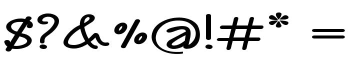 Annarvin-ExtraexpandedBold Font OTHER CHARS