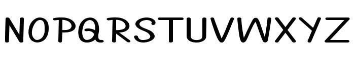 Annarvin-ExtraexpandedBold Font UPPERCASE