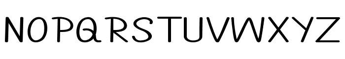 Annarvin-ExtraexpandedRegular Font UPPERCASE