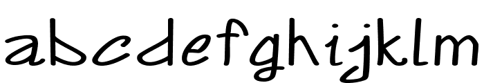 Annarvin-ExtraexpandedRegular Font LOWERCASE