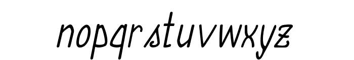 Annarvin-Italic Font LOWERCASE