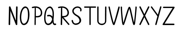 Annarvin Font UPPERCASE