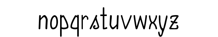 Annarvin Font LOWERCASE