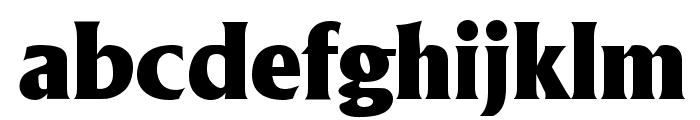 Anthony Regular Font LOWERCASE