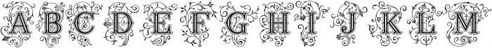 Ana otf (400) Font UPPERCASE