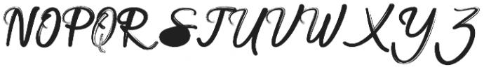 Anaconda otf (400) Font UPPERCASE