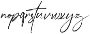 Anamortee otf (400) Font LOWERCASE