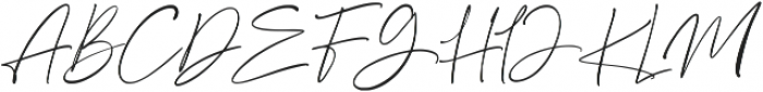 Anamortee ttf (400) Font UPPERCASE