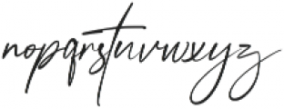 Anamortee ttf (400) Font LOWERCASE