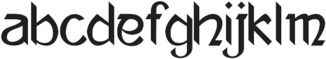 Ananda Neptouch 2 ttf (400) Font LOWERCASE