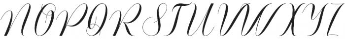 Ananda otf (400) Font UPPERCASE