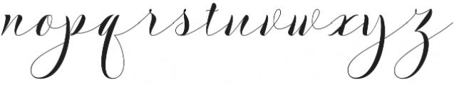 Ananda otf (400) Font LOWERCASE