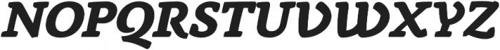 Anaphora ExtraBold Italic otf (700) Font UPPERCASE