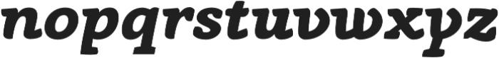 Anaphora ExtraBold Italic otf (700) Font LOWERCASE