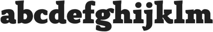 Anaphora Fat otf (800) Font LOWERCASE